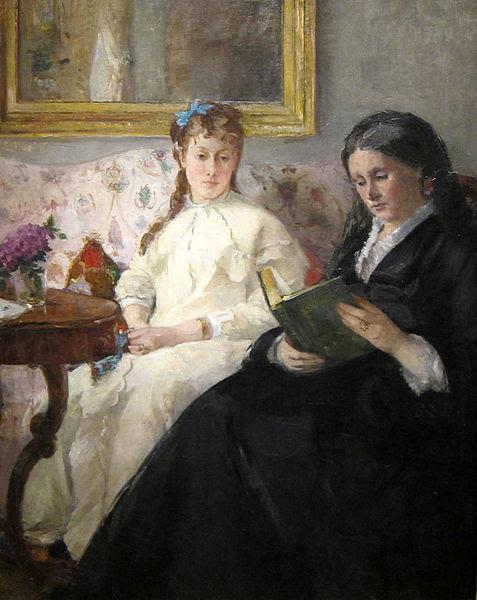 Berthe Morisot, Portrait de la Mère et de la Soeur de l'Artiste