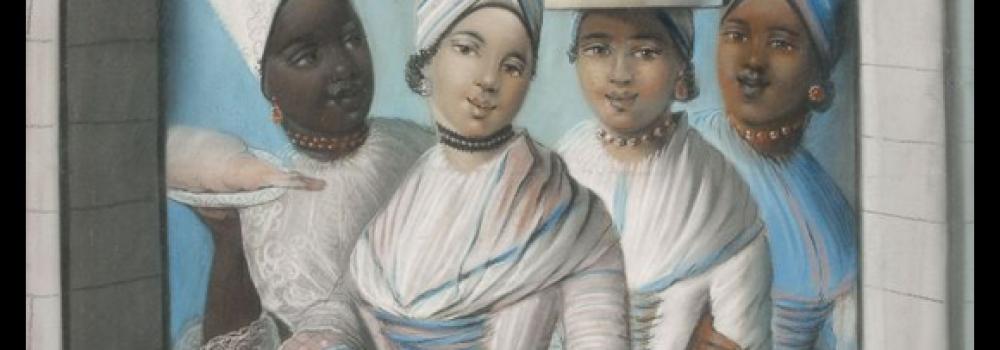 Joseph Savart, Portrait de quatre femmes créoles