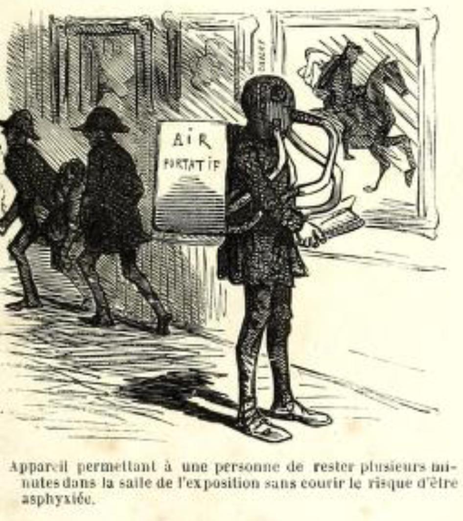 Cham, Revue du Salon de 1853